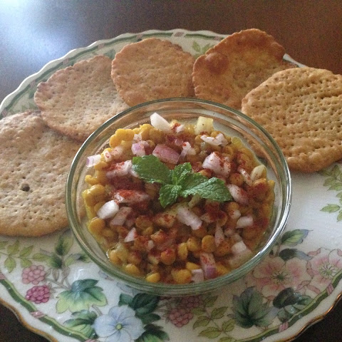 Dal Pakwan/ Wheat Crispies with Lentil Curry
