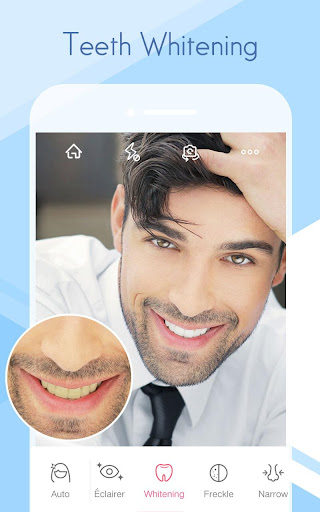 Sweet Selfie - selfie camera,beauty cam,photo edit screenshot 2