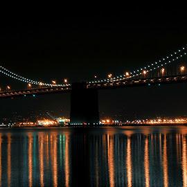 Bay Bridge old by Scott Daniels - Buildings & Architecture Bridges & Suspended Structures