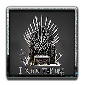 APK App Iron Throne Keyboar Theme for BB, BlackBerry
