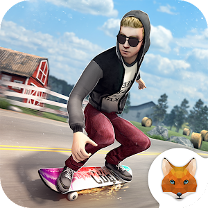 Farm Skater Boy - Skating Game