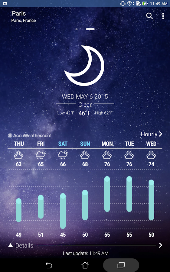 ASUS Weather Screenshot 10