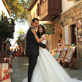 by Necdet Yaşar - Wedding Bride & Groom