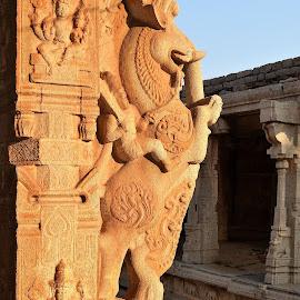 Hampi by Venkatesh KB - Buildings & Architecture Statues & Monuments