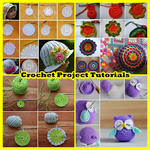 Easy Crochet Project Tutorials