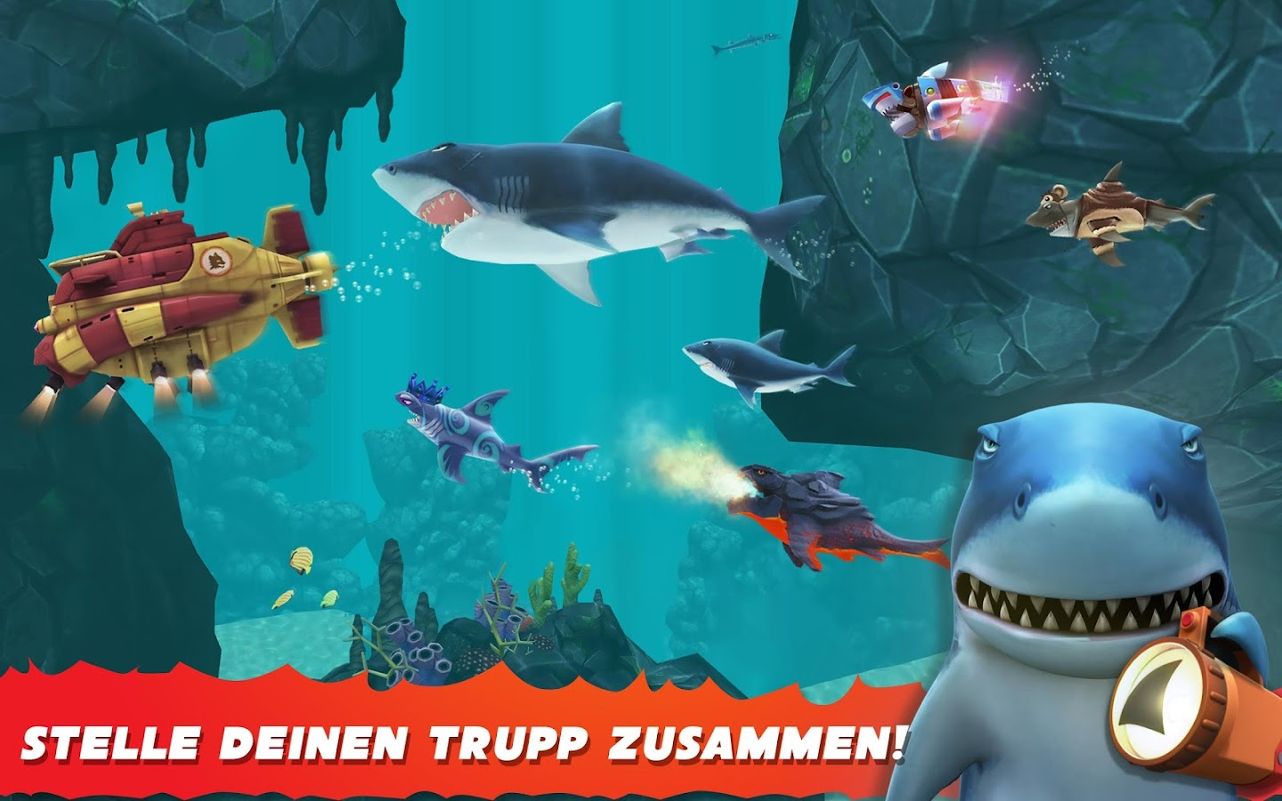 Hungry Shark Evolution – Screenshot