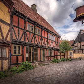Den Gamle By by Ole Steffensen - City,  Street & Park  Street Scenes ( history, shop, den gamle by, street, museum, denmark, aarhus )