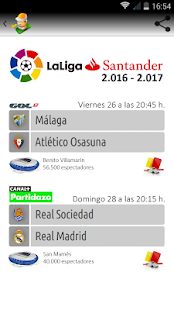 Liga de Fútbol - screenshot