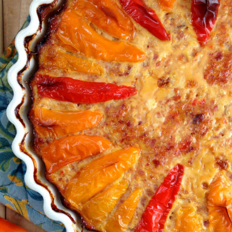 Sweet Pepper Quiche