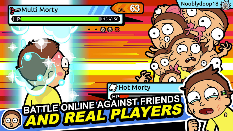 Rick and Morty: Pocket Mortys Screenshot 13