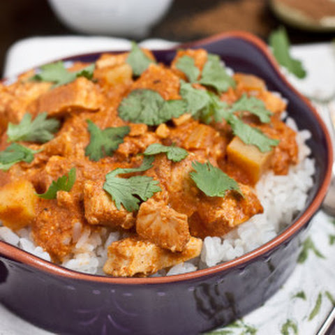 Skinny Slow Cooker Chicken Tikka Masala