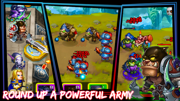 Defender Heroes: Castle Defense TD APK screenshot thumbnail 3
