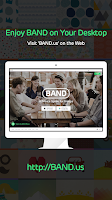 Screenshot of BAND – The Ultimate Group App