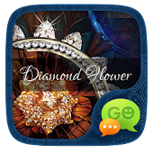 Free FREEGOSMS DIAMOND FLOWER THEME APK for Windows 8