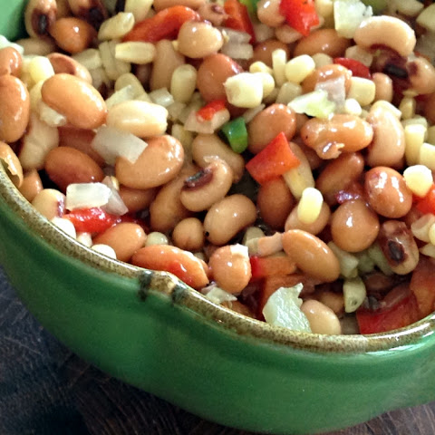 Pretty Vegetable Bean Salad