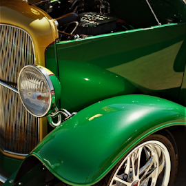 Green Candy by Benito Flores Jr - Transportation Automobiles ( green, car, texas, car show )