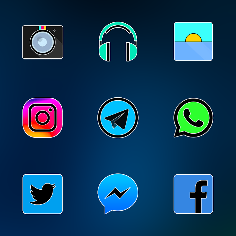 FLUOXYGEN - ICON PACK Screenshot 5