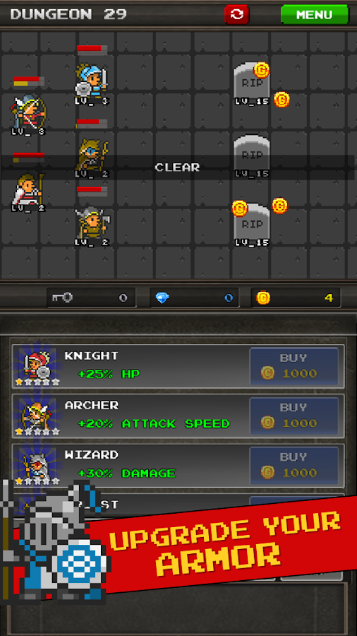 Pixel Heros - Idle RPG Screenshot 3