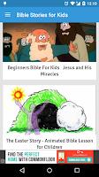 Screenshot of Bible Stories for Kids Videos