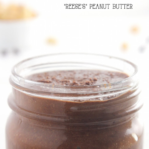 "Clean ""Reese's"" Dark Chocolate Peanut Butter"