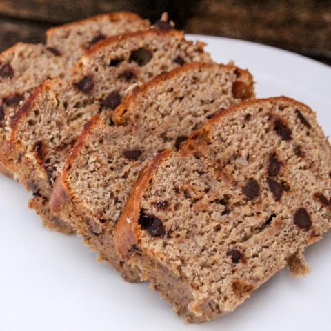 Gingerbread Banana Bread with Chocolate Chips