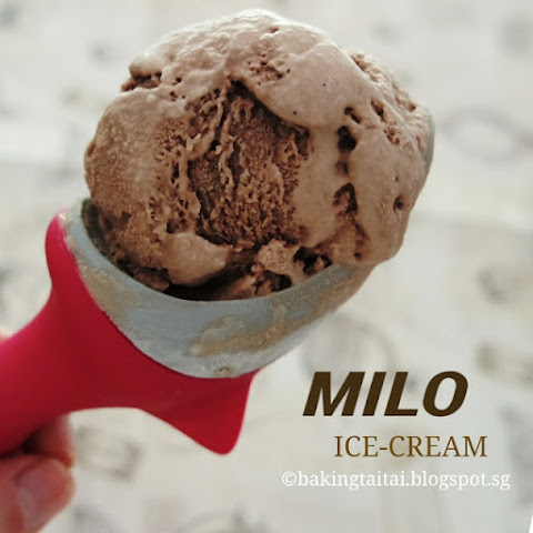 Milo Ice-Cream (eggless version)