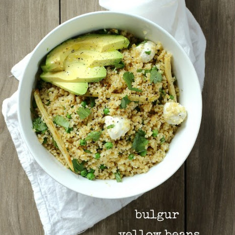 Bulgur and Mozzarella Salad