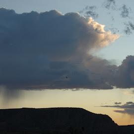 Let it Pour by Savannah Eubanks - Landscapes Weather ( clouds, rain )