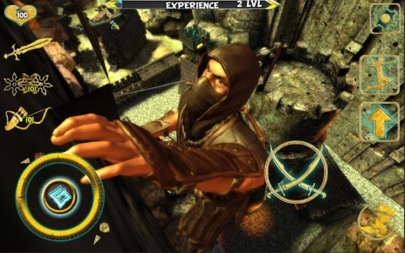 Ninja Samurai Assassin Hero IV Medieval Thief APK screenshot thumbnail 3