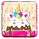 Icecream Unicorn Fun Cat Keyboard Theme APK