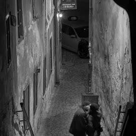by Dušan Gajšek - People Street & Candids ( _mesta, češki krumlov, ulička )
