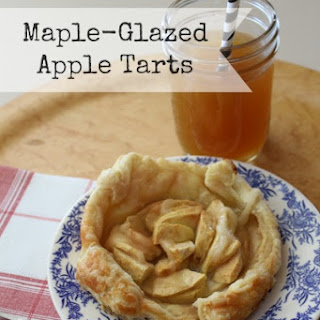 Maple Glazed Apple Tarts