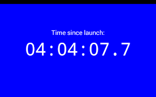 Screenshot of TwoTouch Stopwatch & Timer