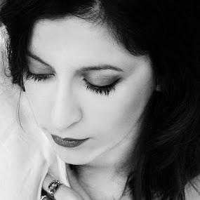 by Sandra Jakovljevic - Black & White Portraits & People
