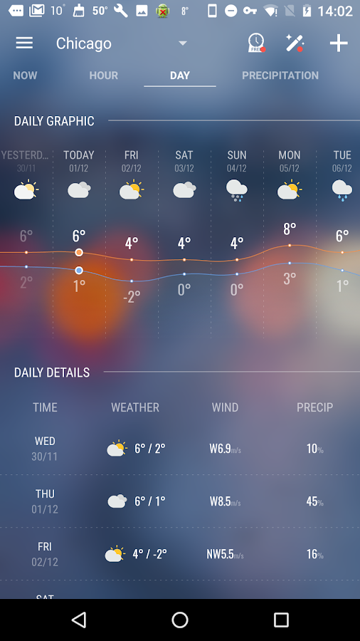 Amber Weather&Radar Free Screenshot 3