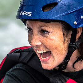 Rafter by Mike Watts - People Street & Candids ( rafter, whitewater, women )