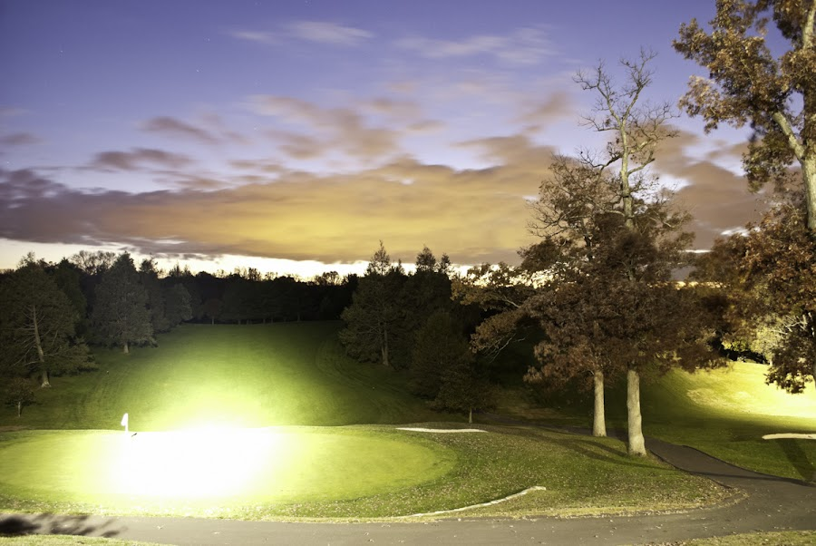 golf at night by George Njiiri - Landscapes Sunsets & Sunrises