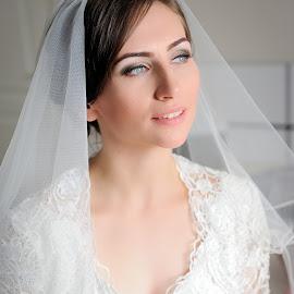 Deep look by Klaudia Klu - Wedding Bride ( look, wedding, white, bride )