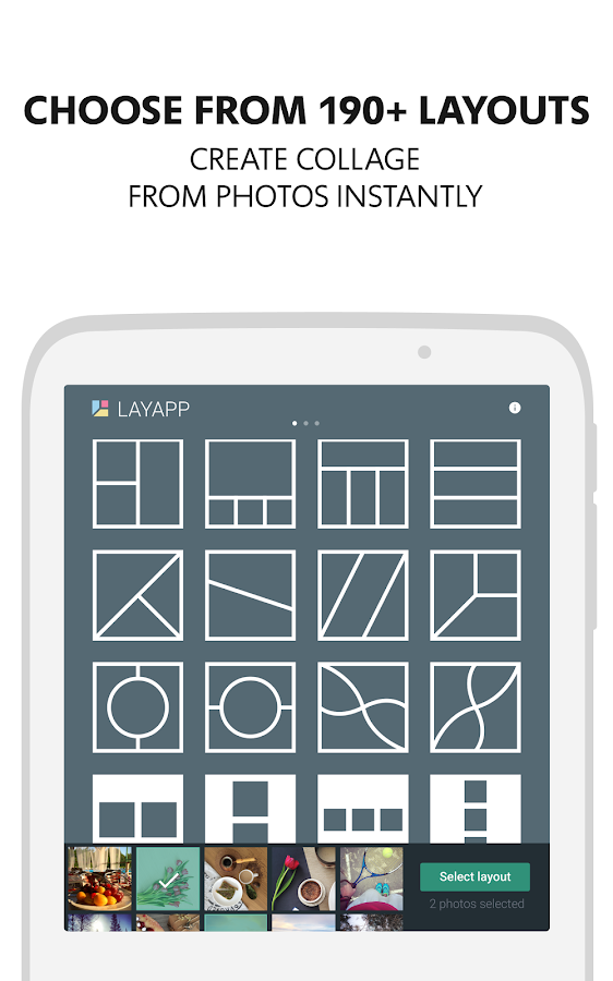 Layapp – Photo Collage Maker Screenshot 5