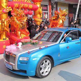 Blue Rolls-Royce by Dennis Ng - Wedding Ceremony