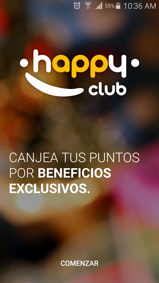 HappyClub Colombia Screenshot 2