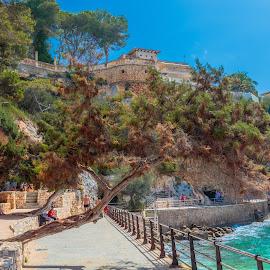 portocristo, Mallorca by Roberto Gonzalo Romero - City,  Street & Park  Vistas ( playa, portocristo, beach, mallorca, palma )