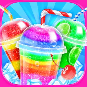 Rainbow Frozen Slushy Truck: Ice Candy Slush Maker For PC / Windows 7/8/10 / Mac – Free Download