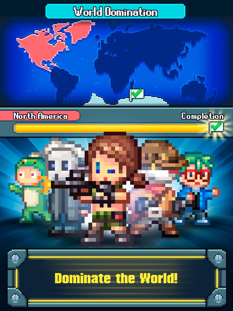 Tap Tap Evil Mastermind - Pixel Idle Clicker Screenshot 8