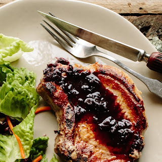 Pork Chops in Port Wine Sauce