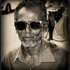 Street Smart by Prasanta Das - People Portraits of Men ( street ssmart, worker, portrait )