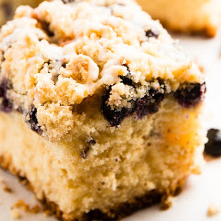 Lemon Blueberry Sour Cream Coffee Cake Recipes