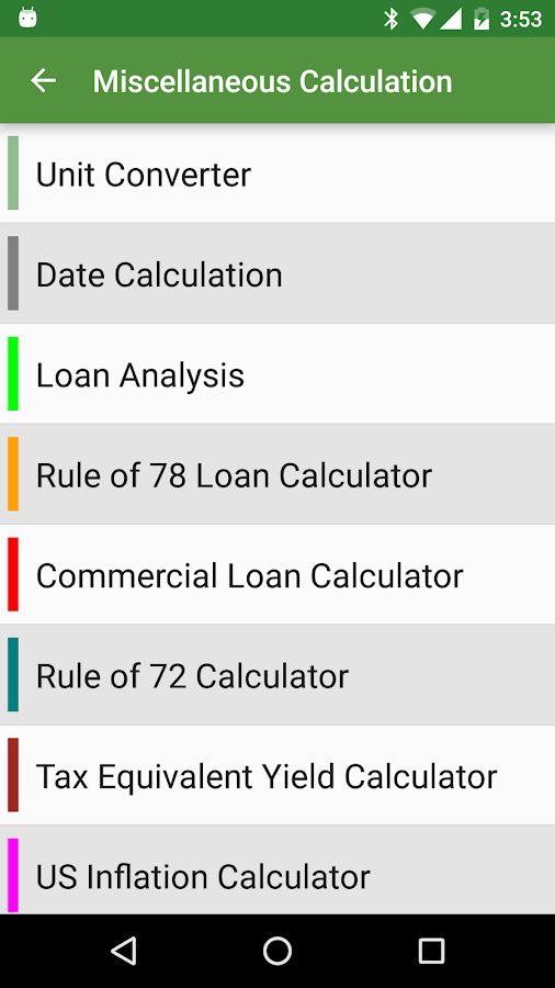 Financial Calculators Pro Screenshot 7