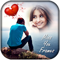 Miss You Photo Frames New HD APK for Bluestacks