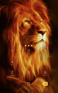 App Fire Lion CM Security Theme apk for kindle fire